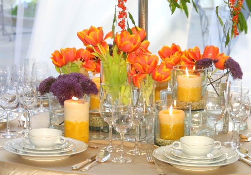 Как красиво оформить праздничный стол