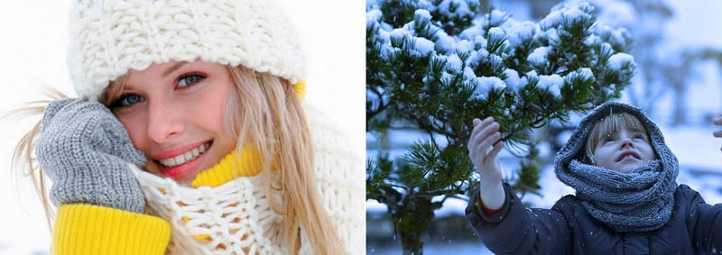 селфи-зимой