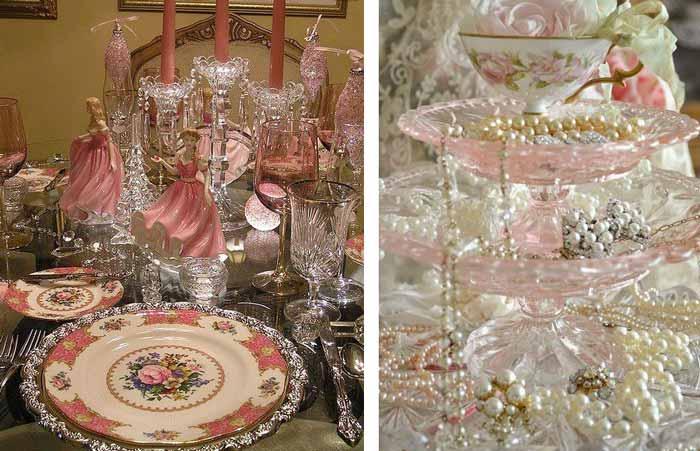 Тематическое украшение стола, фигурки, жемчуг