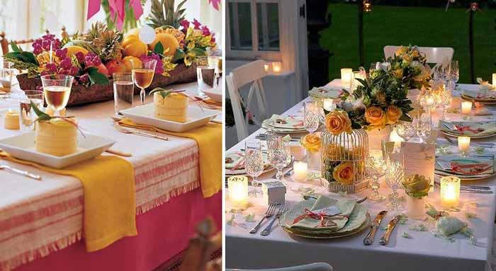 Пример оформления свечи, жемчуг, цветы