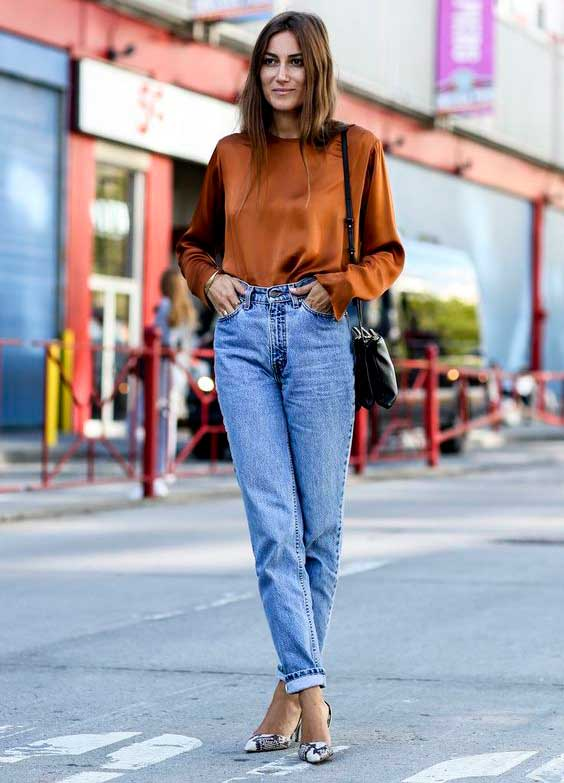 Модные джинсы бойфренды: особенности, с чем носить, кому идут? фото