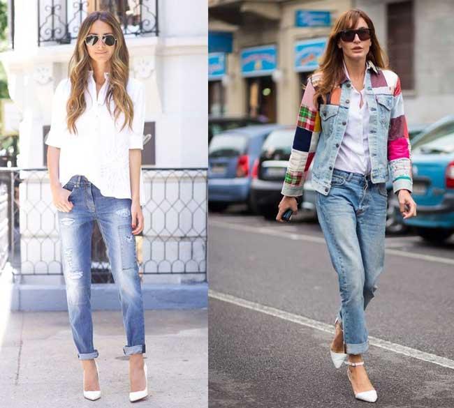 Модные джинсы бойфренды: особенности, с чем носить, кому идут, фото 2