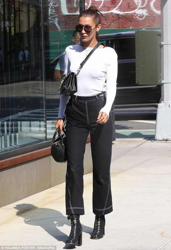 Черные джинсы + водолазка