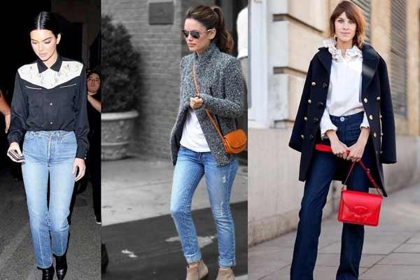 Джинсы на каждый день с чем носить