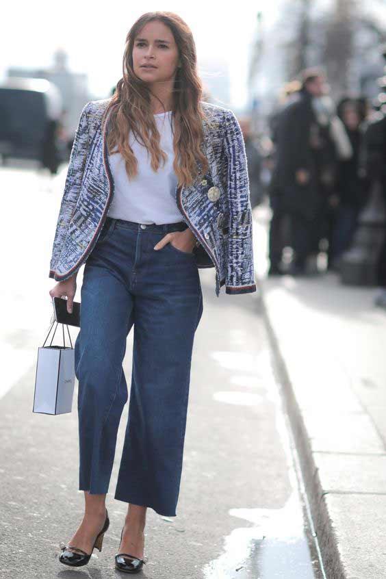 С чем носить джинсы каждый день
