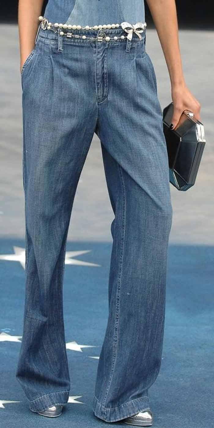 Модные джинсы-клёш 2016