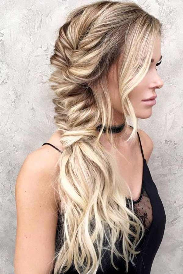 Модное плетение волос