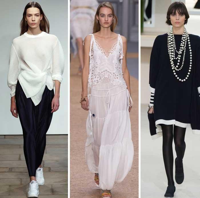 черный и белый модный цвет 2016