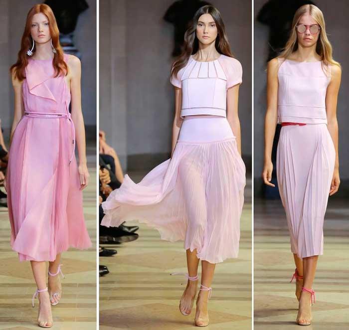 модные оттенки в одежде женщин 2016