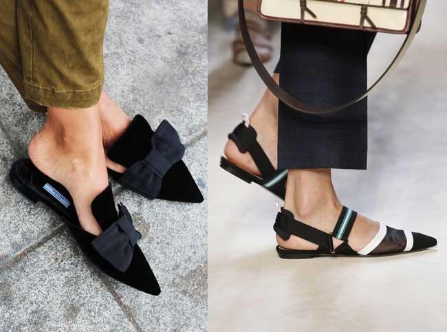 Базовая обувь на лето