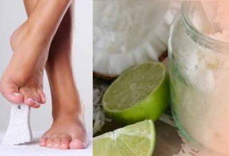 натуральные скраб для тела и ног