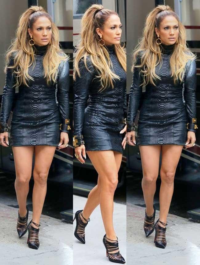 Маленькое черное платье Дженнифер Лопес