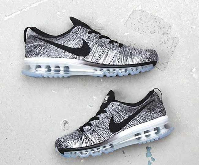 Серебристые кроссовки Nike