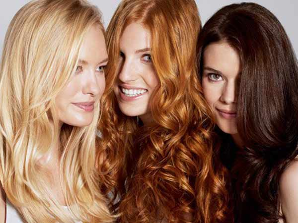 Блондинка, брюнетка, рыжая