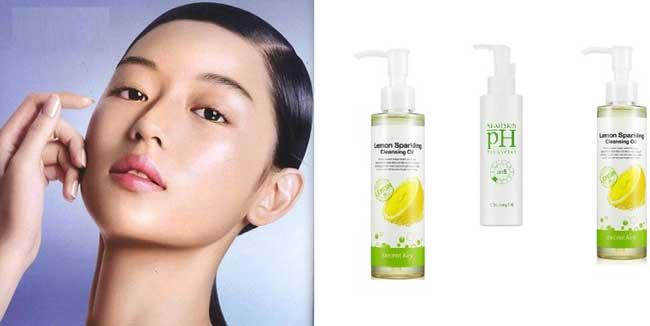 Очищение кожи гидрофильным маслом
