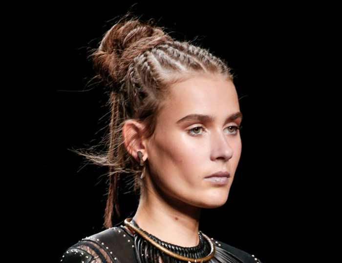 Разные косы 2016-2017 Valentino