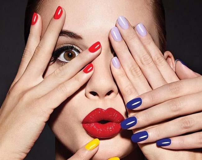 Цвет лака цвет кожи рук идеальное сочетание