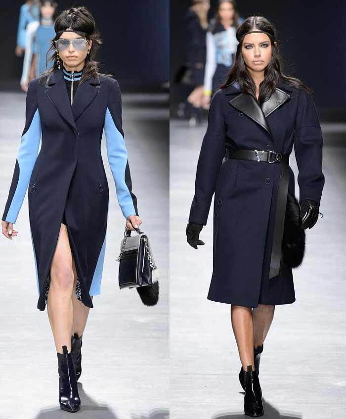 versace пальто осень