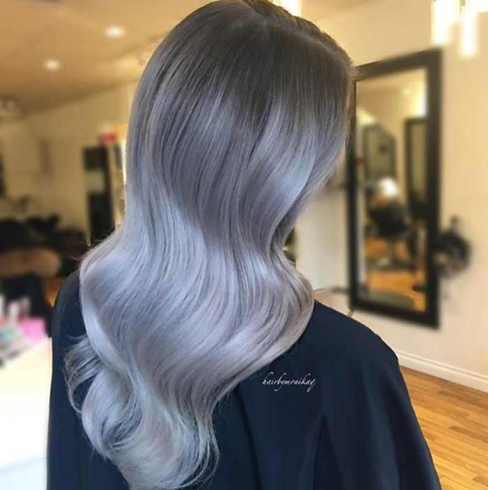 gray-hair Ombre