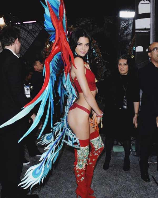 Кендалл ангел Victoria's Secret