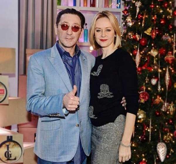 Григорий и Анна Лепс