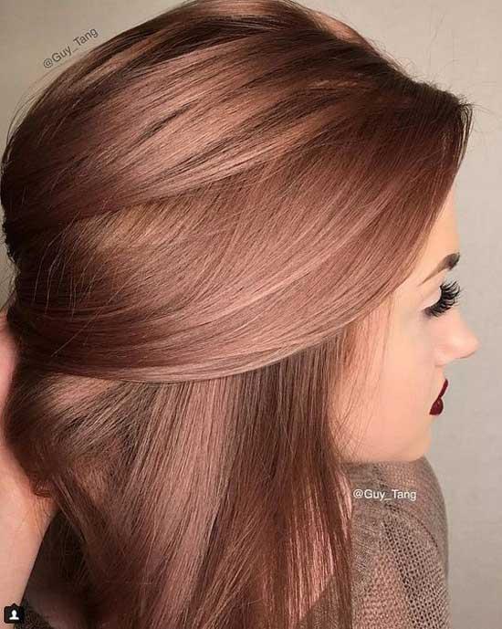 Красивый цвет волос 2017 тренд