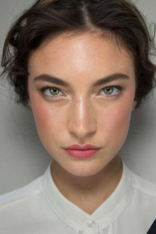 Gym Skin - натуральный макияж, тренд