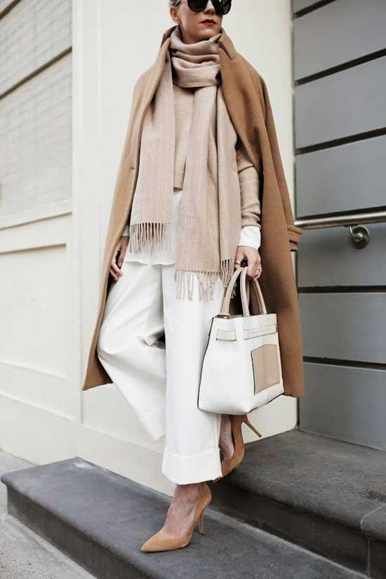 Классический стиль с укороченными брюками
