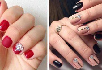 Коррекция коротких ногтей