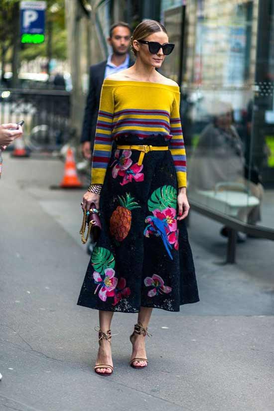Paris Fashion Week Оливия Палермо