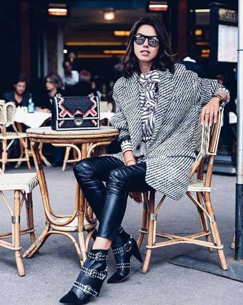 Серый оверсайз пиджак