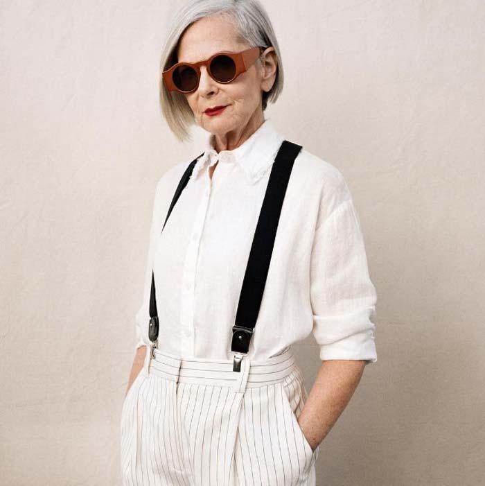 Модный профессор в возрасте