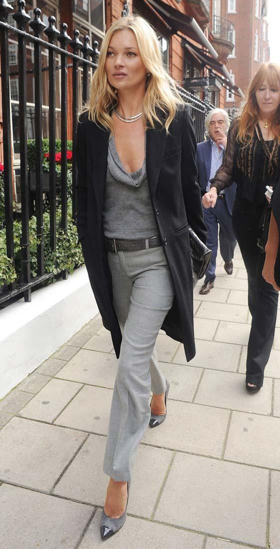 Блузы, брюки и длинный пиджак