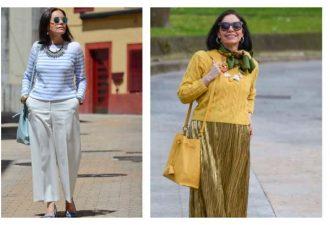 Стильные наряды для женщин от 50 лет