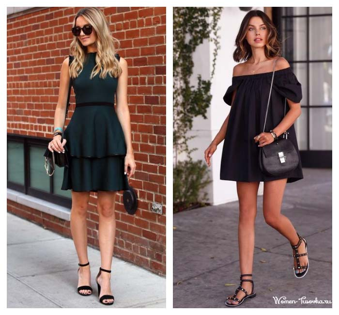 Модные варианты маленьких платьев