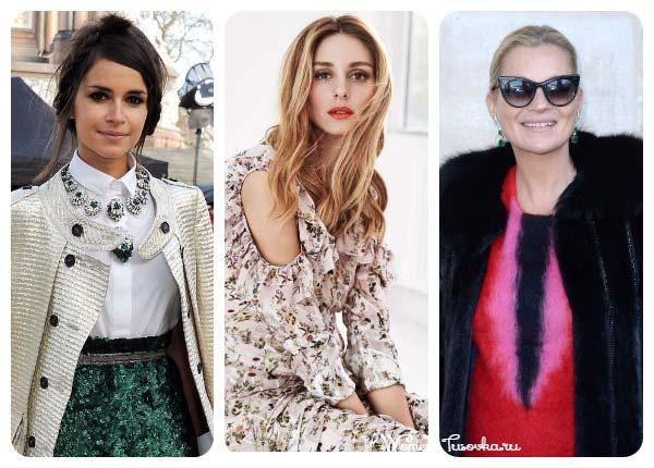 Трендсеттеры: Оливия Палермо, Кейт Мосс и Мирослава Дума