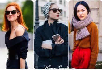 Парижский шик, стиль 2017