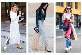 Новый тренд платья поверх наряда