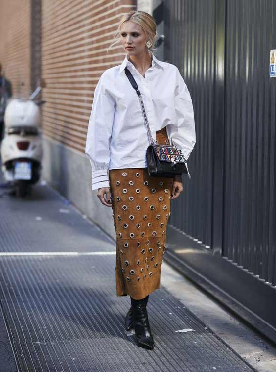 Весна/лето мода 2017, уличный стиль