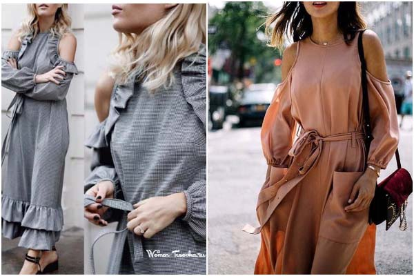 Тренды на летнее платье 2017, образы