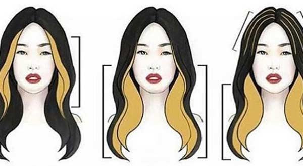 Схема коррекции лица, добавление светлых оттенков