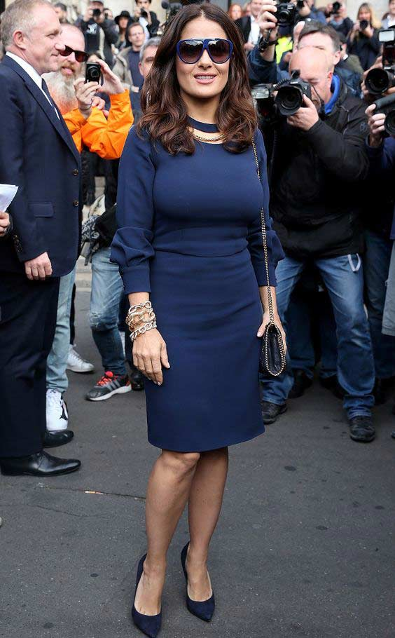 Платье футляр Salma Hayek