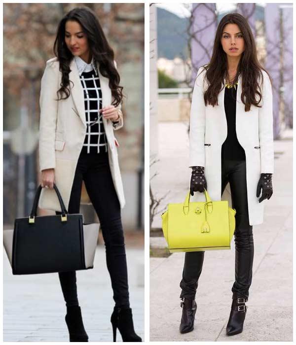 Как одеться зимой - примеры