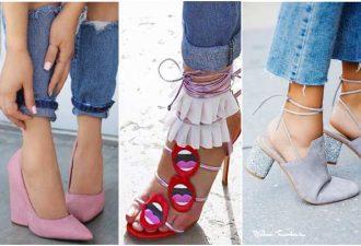 Модные ножки: обуваемся летом по последнему писку
