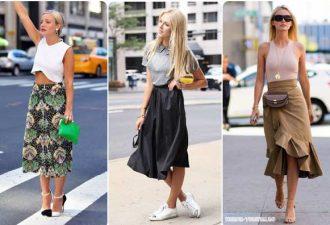Модные юбки на лето