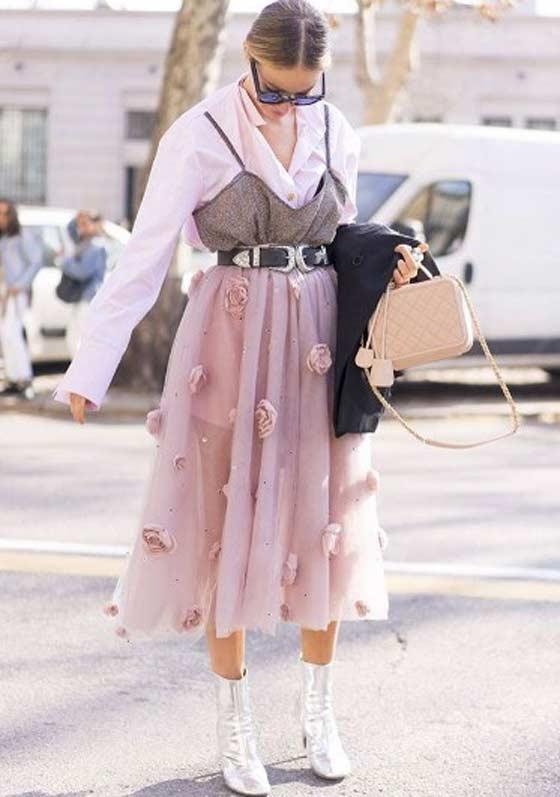 Шифон - модный наряд