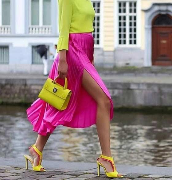 Модная цветовая палитра