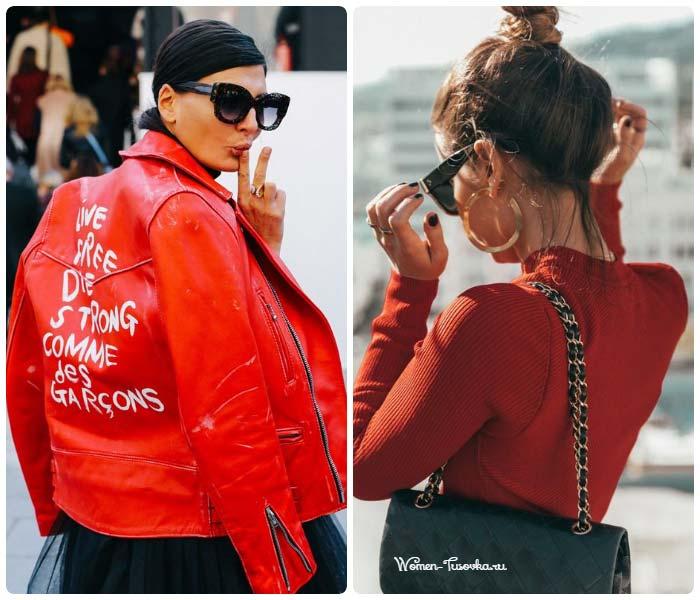 Модные сочетания с недели мод