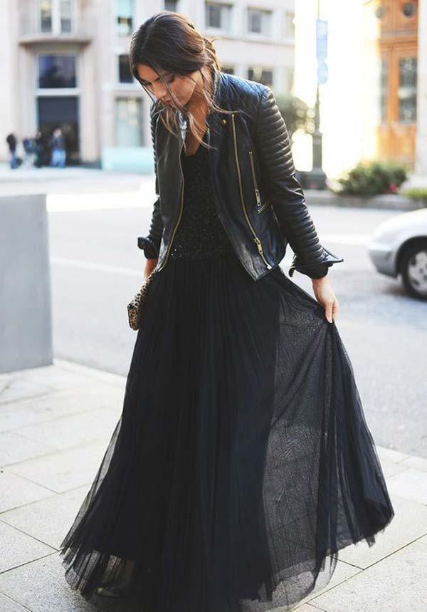 Куртка кожа и юбка