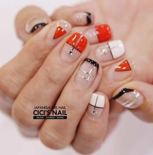 Японский дизайн ногтей